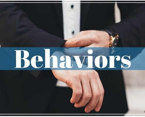 Behaviors of a Salesperson
