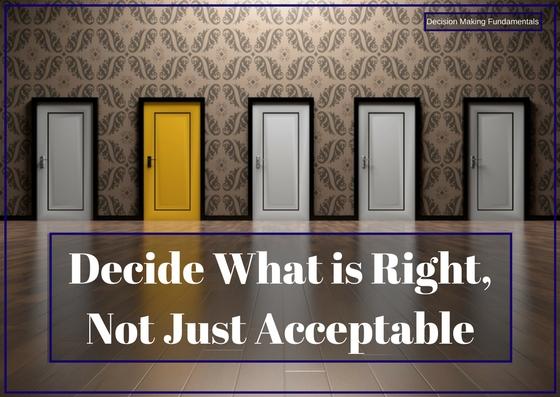 Fundamentals of Decision-Making