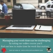 How to Make Time for Work That Matters